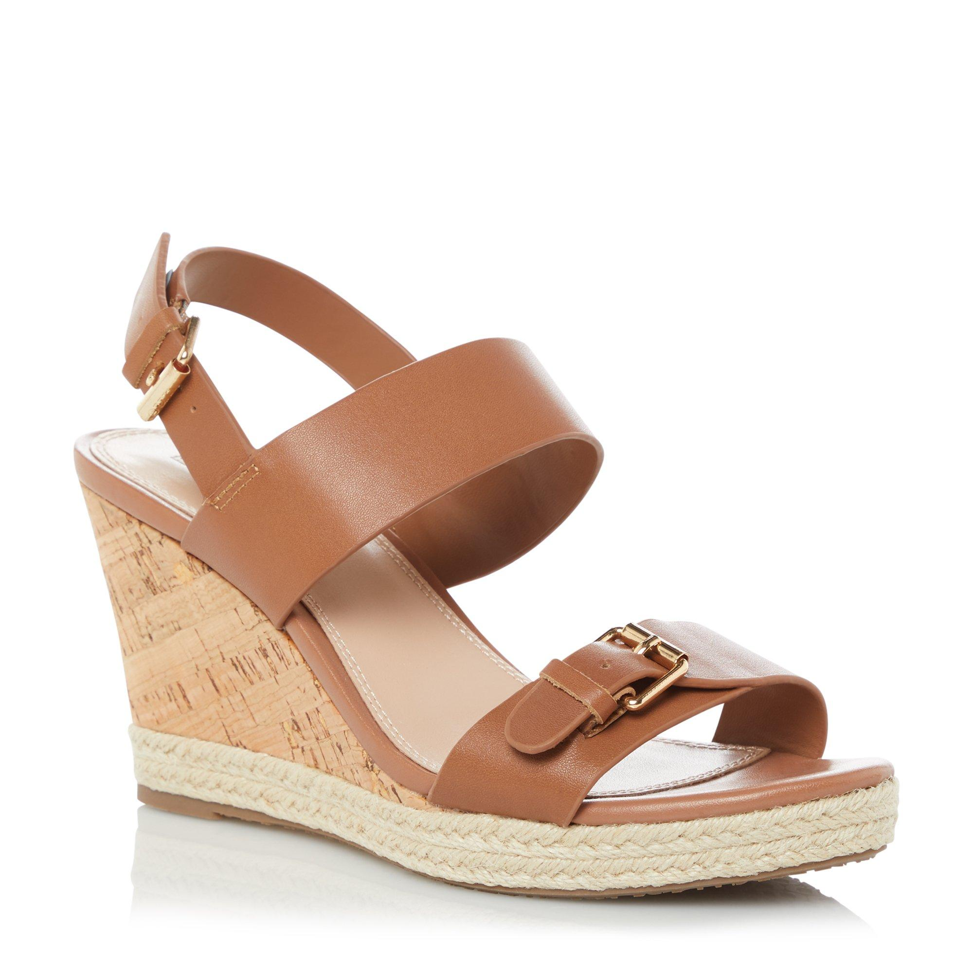 KENDYLL - Buckle Strap Wedge