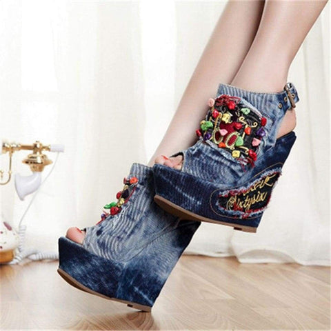 Fun Funky Fabulous Wedge