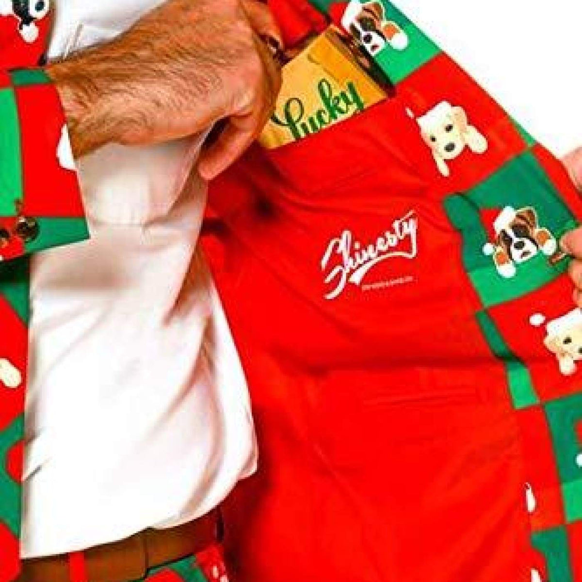 Christmas Suit.Shinesty Ugly Christmas Suit For Men