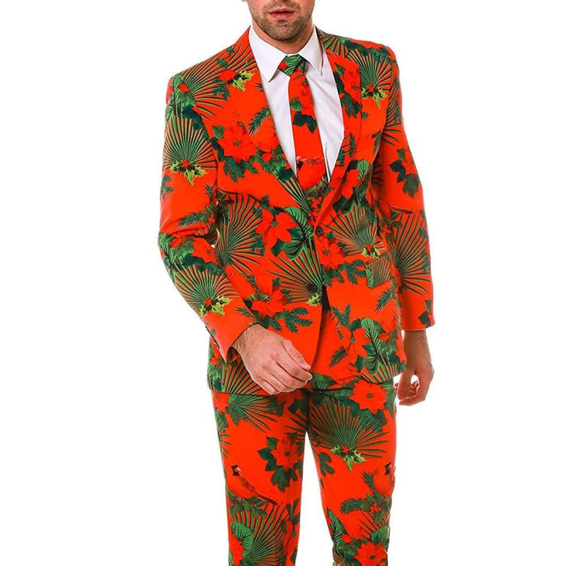 Shinesty Christmas Suits.Shinesty Ugly Christmas Suit For Men Us Jacket 48 Waist 38 Red Hawaiian