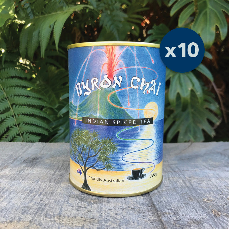 Byron Chai Indian Spiced Tea 10x 200g