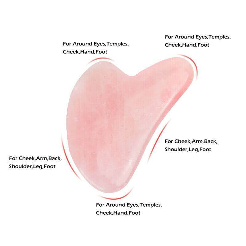 Rose Quartz Gua Sha Tool
