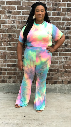 Cotton Candy Pants Set