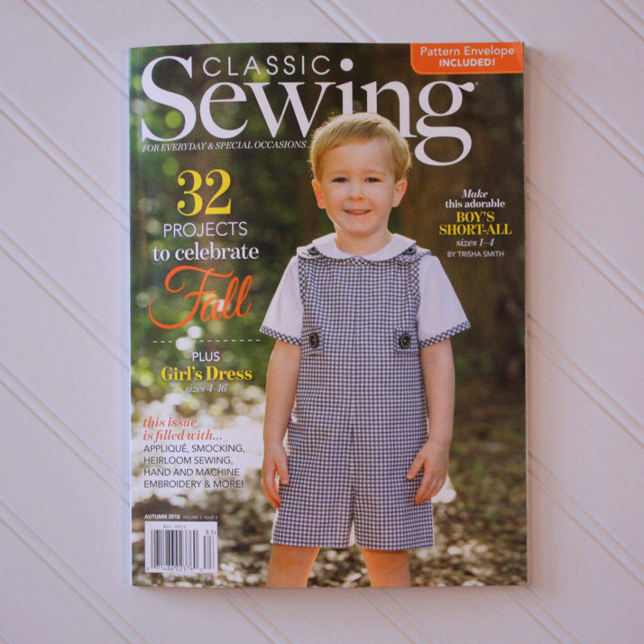 New Classic Sewing Magazine!