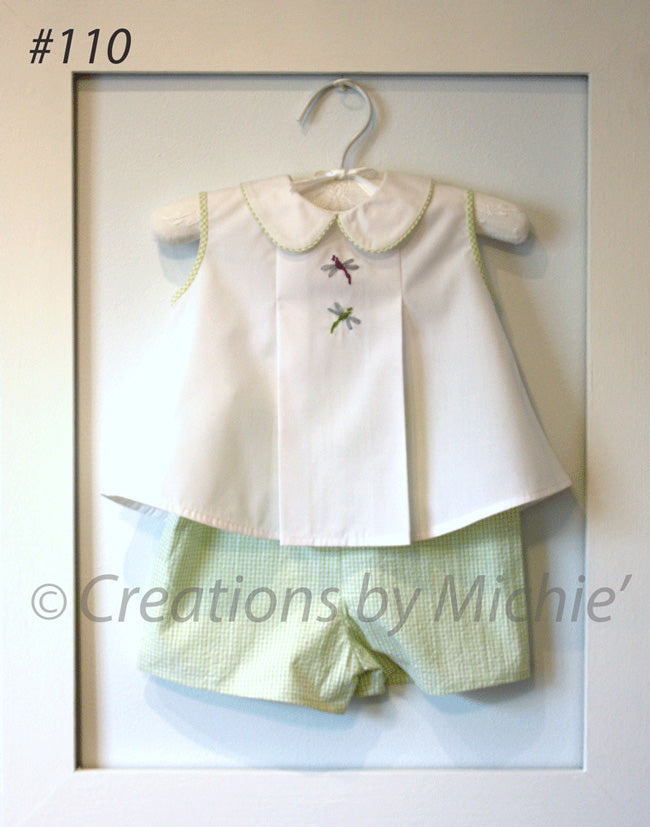 110 - Printable Diaper Shirt & Shorts