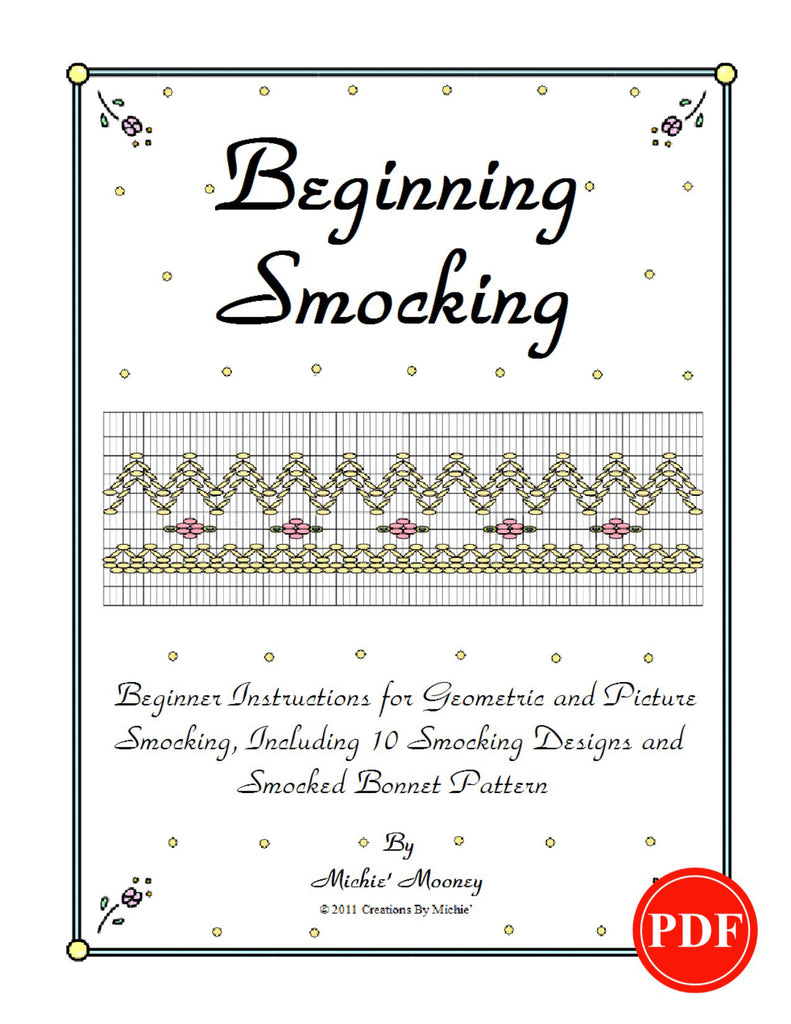 Beginning Smocking Book Printable