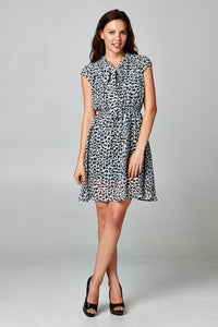 Tie Neck Dress Dresses - Order online www.5iento.dk
