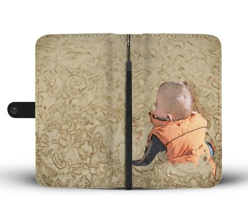 Baby On Fall Wallet Phone Case w/ RFID Blocker Gadgets - Order online www.5iento.dk