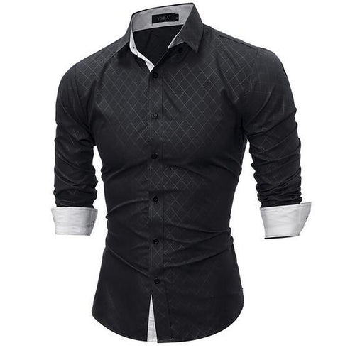 Fashion Slim Fit Shirt - Visit www.5iento.dk