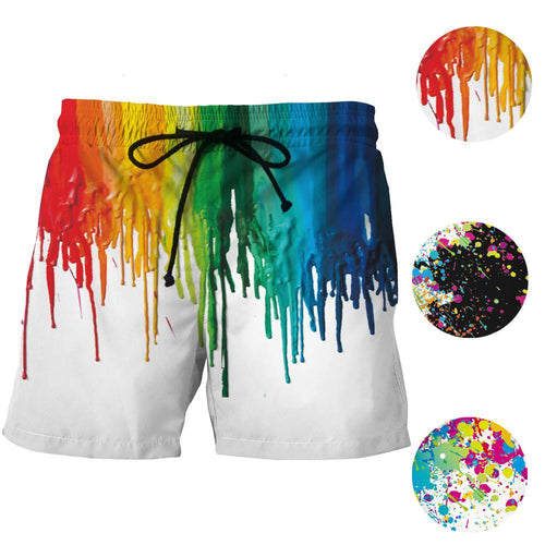 Ink Splash  Board Shorts - Visit www.5iento.dk