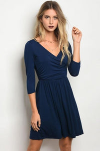 Navy Night Dress Dresses - Order online www.5iento.dk