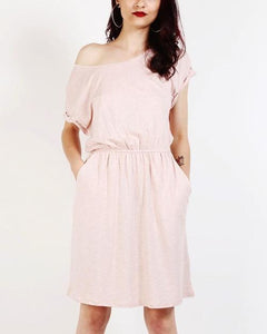 Pink T-Shirt Dress Dresses - Order online www.5iento.dk