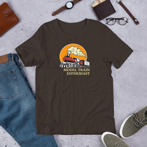 Train Enthusiast t-Shirt in scene
