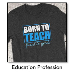 Education Profession Tops