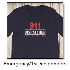 Emergency/1st Responders Tops