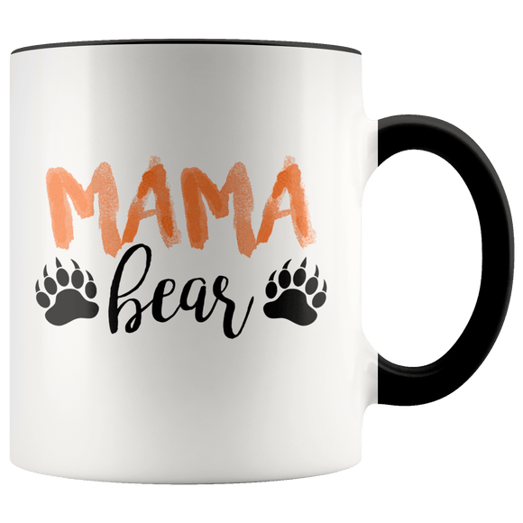 Mama Bear Mug ~ 11oz. Black