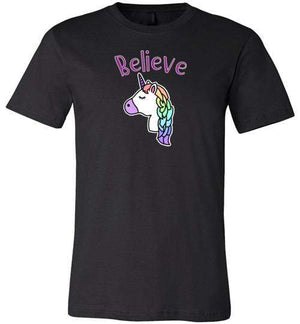 Unicorn Believe t-Shirt ~ Short-Sleeve (Child & Adult)
