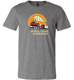 Model Train Enthusiast Vintage Railway Gift Shirt
