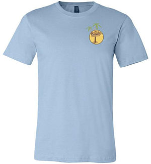 Get Me to the Beach Short-Sleeve Tshirt Light Blue / S