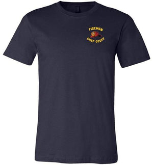 Fireman Chef Geoff Official Fan t-Shirt
