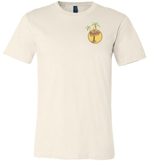 Get Me to the Beach Short-Sleeve Tshirt Soft Cream / S