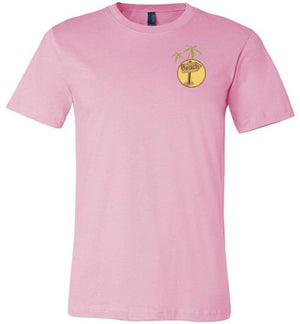 Get Me to the Beach Short-Sleeve Tshirt Pink / XS