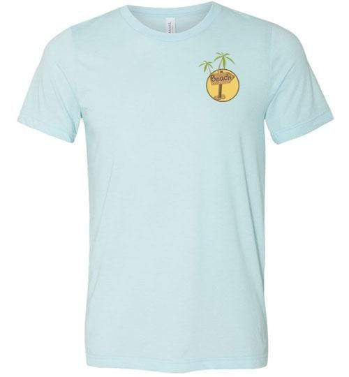 Get Me to the Beach Short-Sleeve Tshirt Heather Ice Blue / XS