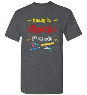 Ready to Rock 1st Grade t-shirt ~ Youth Short-Sleeve