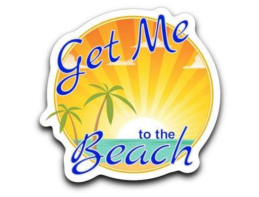 Get Me to the Beach Decal Get Me to the Beach Decal