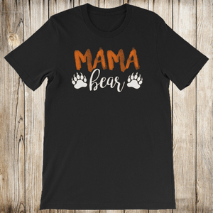Mama Bear Shirt for Women - Short-Sleeve (Adult)