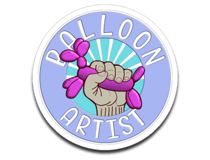 Balloon Artist Decal for Balloon Twisters