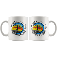 Model Railroad Fan Mugs both sides