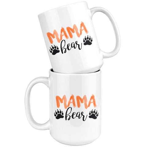 Mama Bear Mug both sides