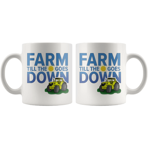 Farmer mug both sides