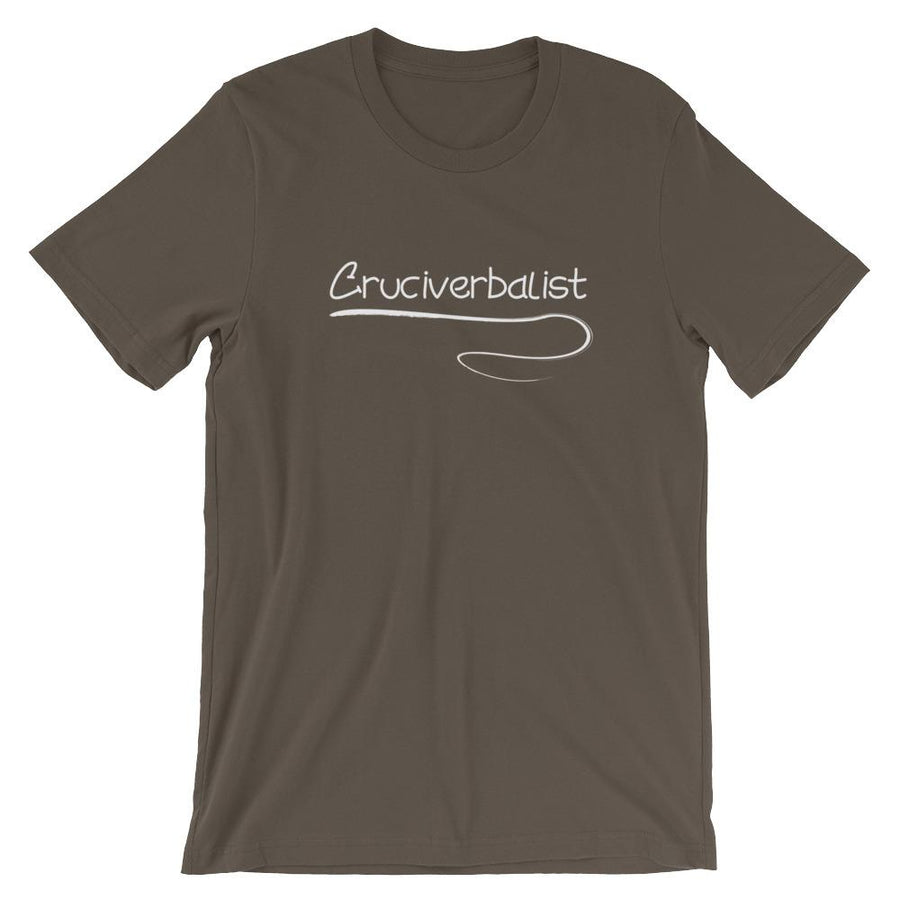 Cruciverbalist Short-Sleeve Shirt for Men & Women Crossword Puzzle Lovers (Adult)