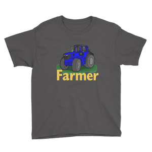 Farmer Tractor Short Sleeve T-Shirt (Youth Size)
