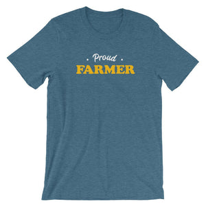 Vintage Proud Farmer Short-Sleeve Shirt for Men & Women (Adult)