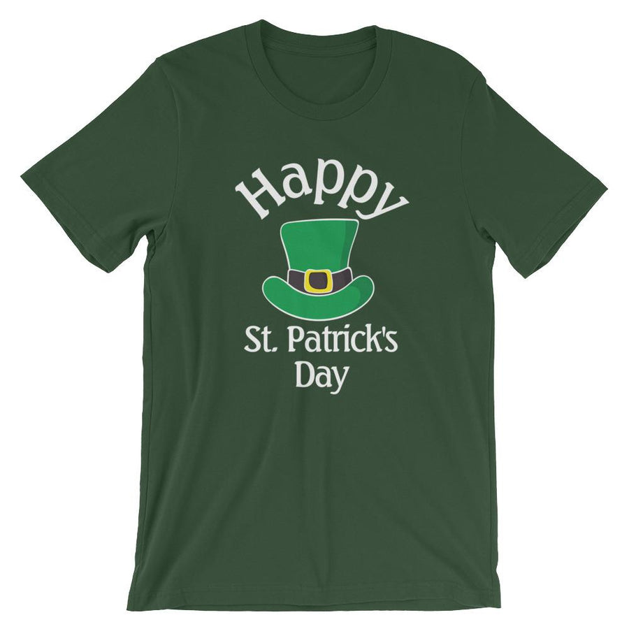 Happy St. Patrick's Day Short-Sleeve Shirt for Men & Women (Adult)