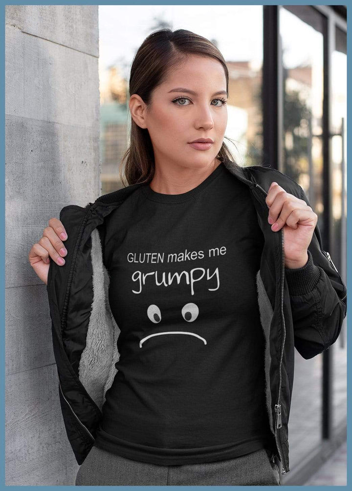 Gluten Makes Me Grumpy Short-Sleeve Shirt (Adult & Youth)