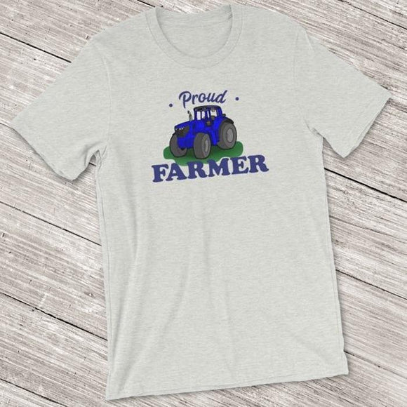 Proud Farmer Short-Sleeve Shirt for Men & Women (Adult)