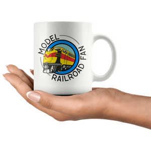 Model Railroad Fan Mug