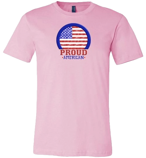 Proud American Shirt ~ Short-Sleeve (Adult & Youth)
