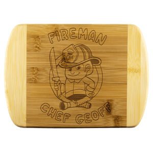 Fireman Chef Geoff Cutting Board