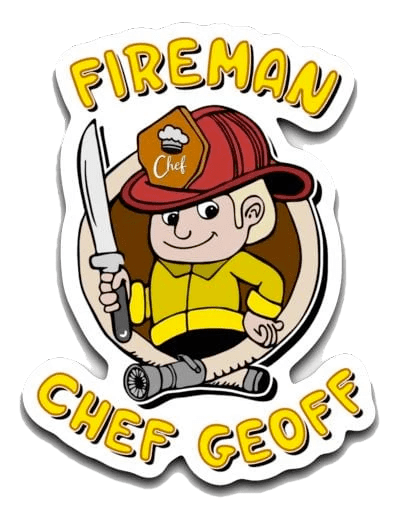 Fireman Chef Geoff Decals