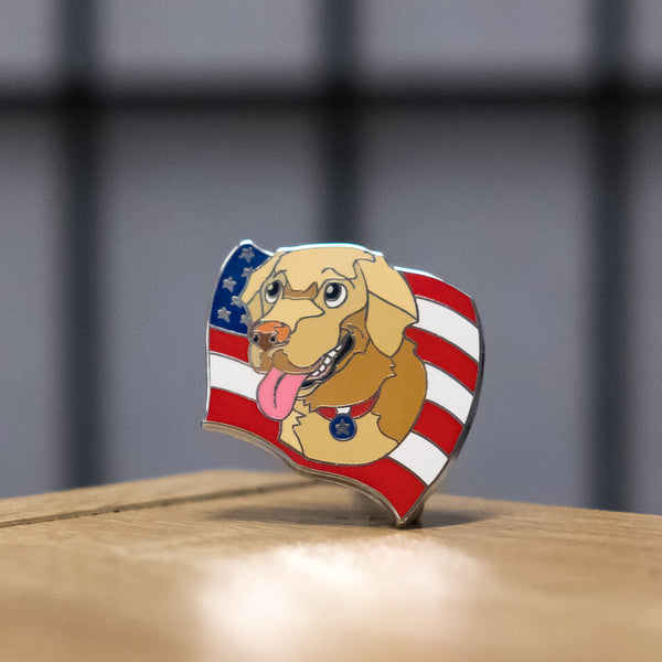Buddy Washington Pin