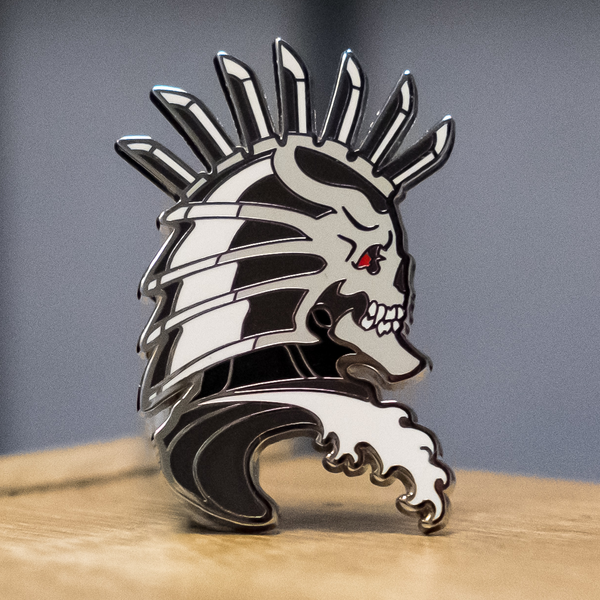 Metal Samurai Pin