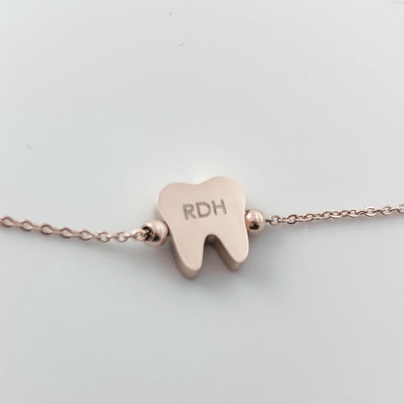 I AM RDH....Bracelet Rose Gold