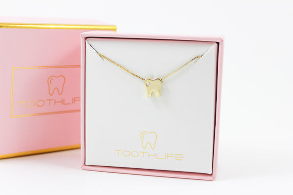 Twinkle Tooth Gold Plated 925 Silver - Toothlife
