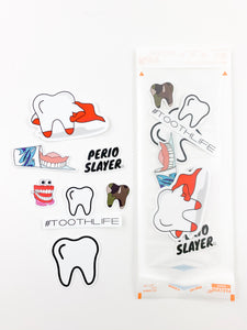 Sticker Starter Pack- Cavity Slayer