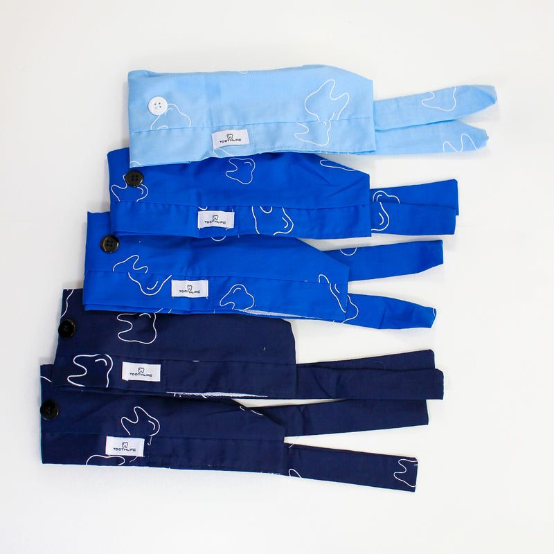 Blue Scrub Cap - 5 Pack